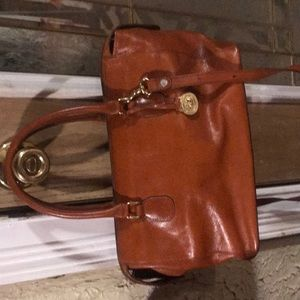 Cognac Brahmin hand bag
